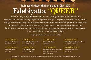 Toplumsal Cinsiyet ve Kadın Çalışmaları Dizisi 2012: Edebiyatta Queer