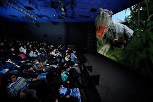Turkiye'nin İlk ve En büyük Hareketli Sinema Salonu