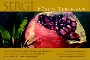 Füsun Yeremyan Resim Sergisi