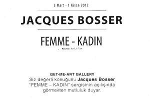 Jacques Bosser - Femme- Kadın