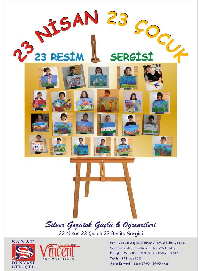 Gözütok Güçlü - 23 Nisan 23 Çocuk 23 Resim