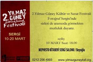 2. Yılmaz Güney Kültür ve Sanat Festivali Karikatür-Fotoğraf Sergisi