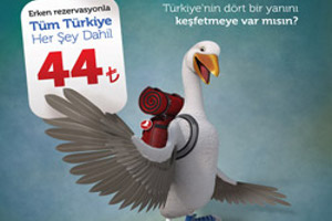 44TL'ye Uçma Fırsatı