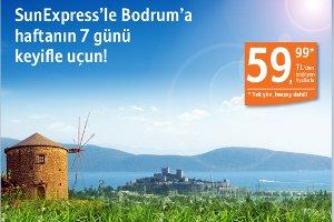 SunExpress'ten Yeni Bodrum ve Mardin Uçuşları