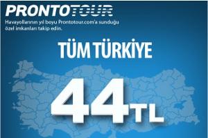 Erken Rezervasyon Fırsatı Tüm Türkiye THY İle 44 TL
