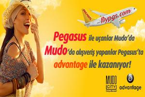 Pegasus ile Uçanlara Mudo'dan Hediye Çeki