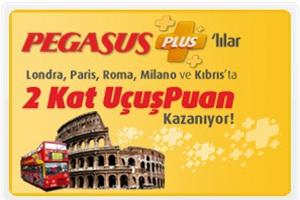 Pegasus Plus ile 2 Kat Uçuşpuan Kampanyası