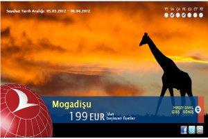 Türk Hava Yolları, Mogadişu (Somali) Uçuşlarına Başlıyor