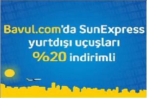 Turkcell'lilere Tüm Yurt Dışı SunExpress Uçuşları Yüzde 20 İndirimli!