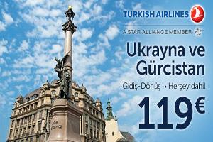 Ukrayna ve Gürcistan'a Herşey Dahil 119 Avro'ya