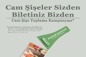 Cam Şişeler Sizden Tiyatro Biletiniz Anadolu Cam'dan