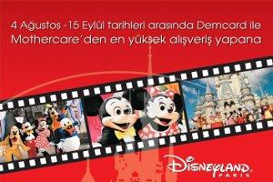 Mothercare'den Çocuklara Unutulmayacak Disneyland Fırsatı
