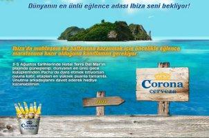Corona'dan İbiza Ödüllü Yarışma