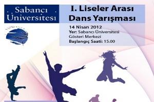 Liseli Dansçılar Sabancı Üniversitesi'nde Yarışacak