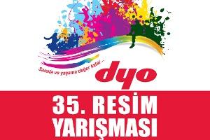 35. Dyo Resim Yarışması Başlıyor