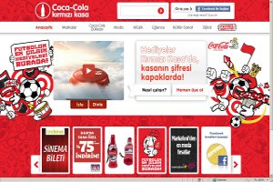 Futbol Coşkusu Coca-Cola Kırmızı Kasa'da