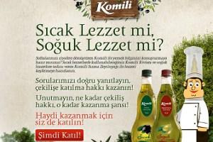 Komili Zeytinyağı Hakiki Lezzetin Sırrını Açıklıyor!