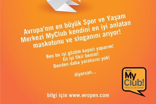 MyClub'tan Slogan ve Maskot Yarışması İyi Olan Kazansın