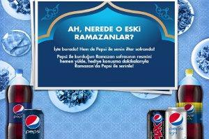 Pepsi'li İftar Sofrasının Fotoğrafını Pepsi Facebook Sayfasına Yükle Kazan
