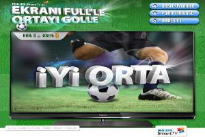 Philips Smart TV ile Ekranı Full'le Ortayı Golle