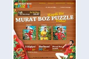 Yedigün'den Murat Boz Puzzle !