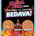 Domino's Pizza'dan Lezzet Üçlemesi '1+1+1'
