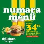 On Numara Maç Keyfi Şaşkinbakkal Dükkan Burger'de