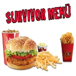 KFC'de Survivor Menü: 6'lı Hot Shots Acun'dan