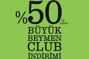 Beymen Club'ta Yüzde 50'ye Varan İndirim