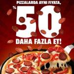 Pizza Hut'tan Damak ve Cep Dostu Kampanya