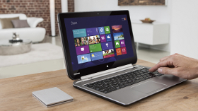 Yeni 2'si Bir Arada Notebook ve Tablet'ini Sunar: SatelliteW30t ve W30Dt