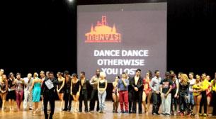2. İstanbul Uluslararası Dans Festivali 1.gün Latin Dans Gösterileri ve Partiler
