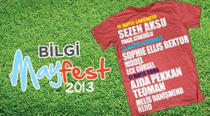 Bilgi Mayfest '13 - 3. Gün - Ajda Pekkan - Teoman - Melis Danişmend - Redd
