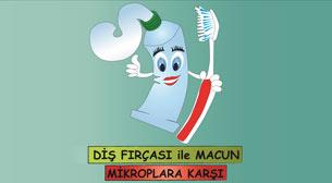 Diş Fırçası ve Macunu Mikroplara Karşı