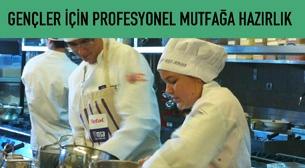 Gençler için Profesyonel Mutfağa Giriş