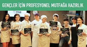 MSA - Gençler İçin Profesyonel Mutfağa Hazırlık