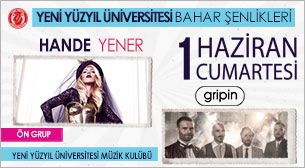 Yeni Yüzyıl Üniversitesi Bahar Şenliği'13 - Hande Yener - Gripin