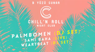 Chill'n Roll Night Club: Palmbomen