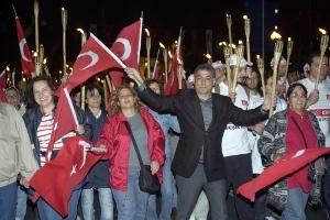 Beşiktaş'ta 19 Mayıs Karnavalı