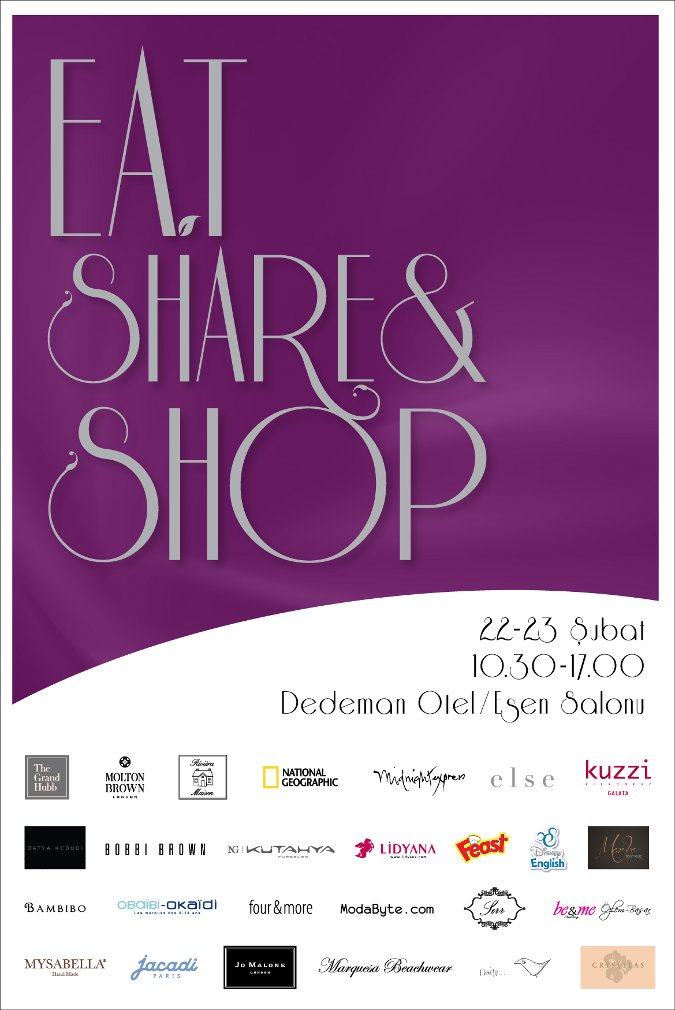 Eat, Share And Shop