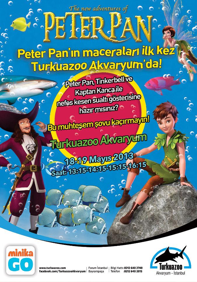 Peter Pan'ın Macera Dolu Serüvenini Sualtında İzlemeye Davetlisiniz!