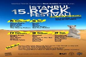 Rock Ruhu İtü'yü Sarıyor, 15. İstanbul Rock Festivali 15 Nisan'da Başlıyor!