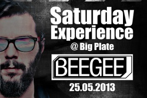 BeeGee Big Plate Sahnesinde