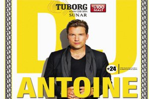 Tuborg Sunar: DJ Antonie Canlı Performans