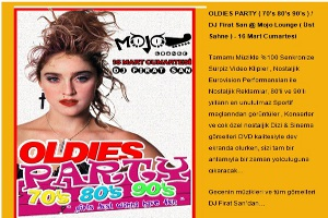 Oldies Party ( 70's 80's 90's ) - DJ Firat San