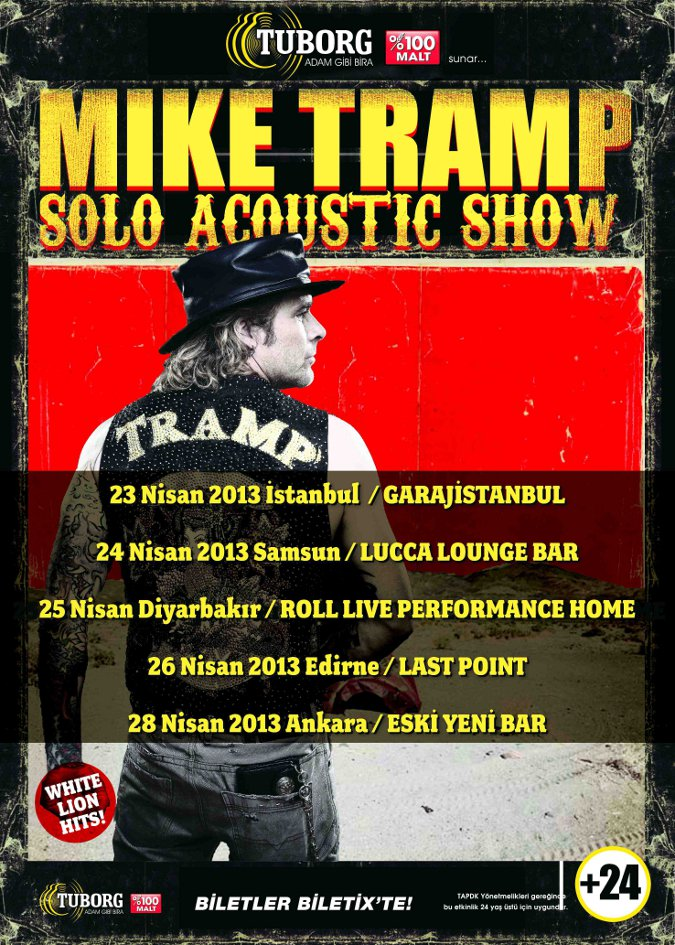 Tuborg Sunar: Mike Tramp - Solo Acoustic Show