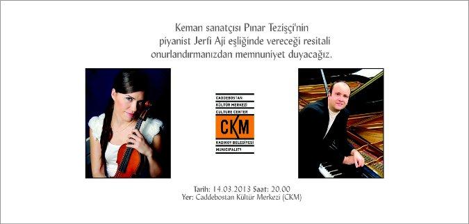 Pinar Tezişçi ve Piyanist Jerfi Aji