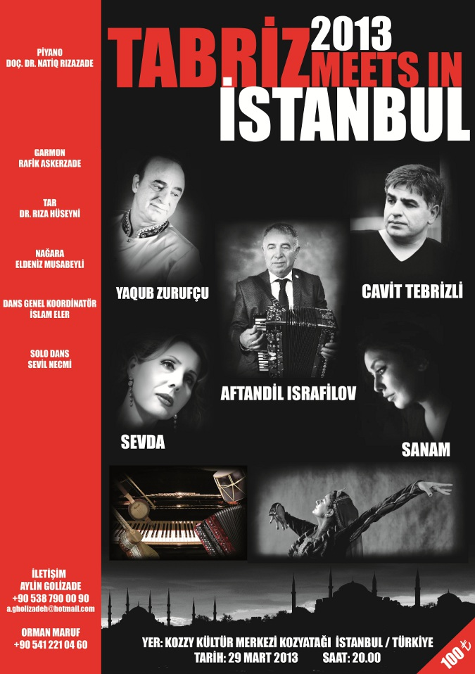 Tabriz Meets İstanbul Konseri