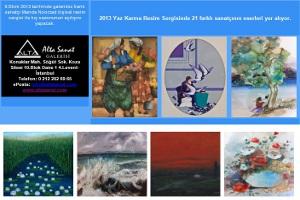 2013 Yaz Karma Resim Sergisi