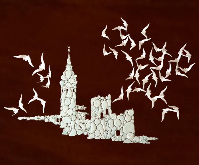 Deniz Toraman'ın 'Kuşların Dansı + İstanbul' Seramik Sergisi